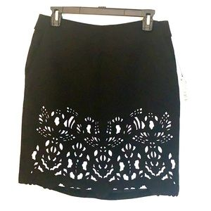 Worthington Black & White Skirt with Pockets